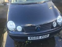 VW Polo 05 Reg, 5-Door,BREAKING for SPARES OR REPAIR !!!!! NON-RUNNER