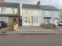 3 bedroom semi detached house, driveway, disabled access, separate dining and living room