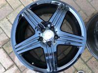 Mercedes A250 amg alloy wheels