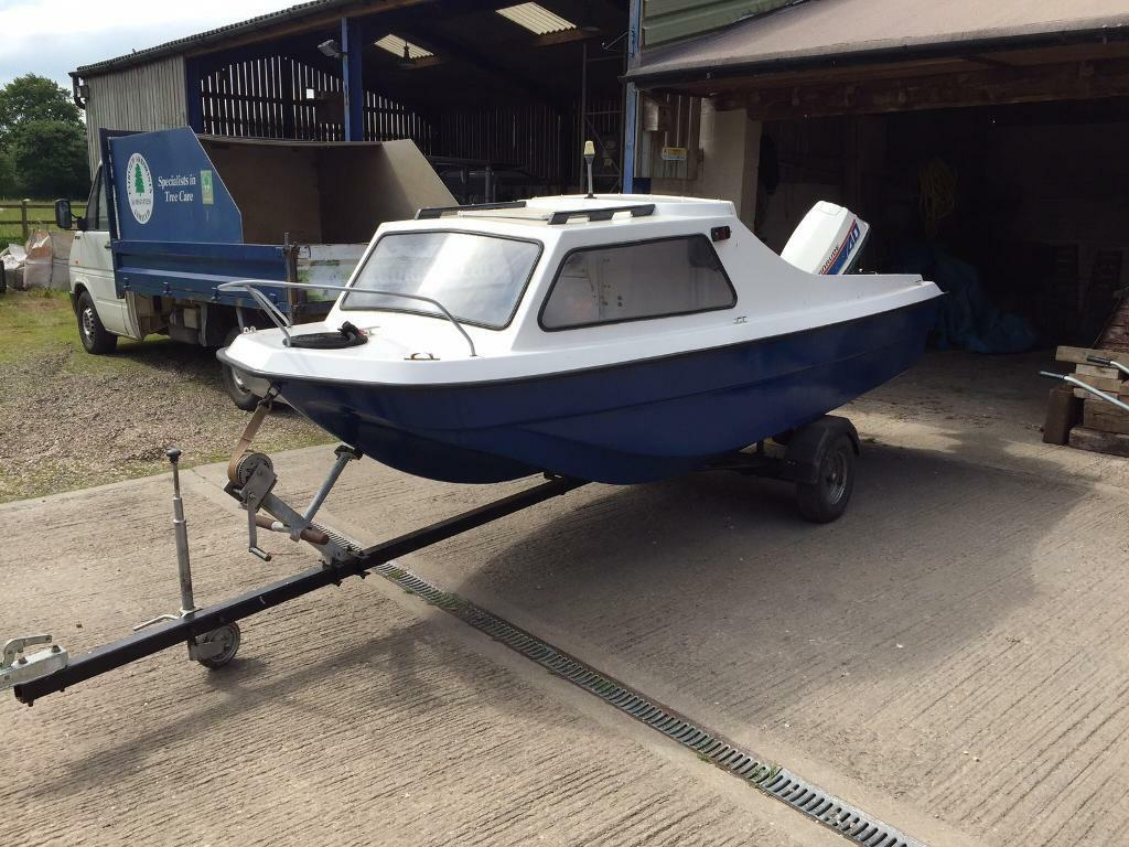 Fishing boat cjr 14 ft in barton under needwood for 14 ft fishing boat