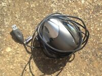ergonomic horizontal mouse (left)