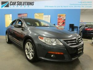 2011 Volkswagen CC Sportline - 6 Speed manual