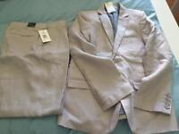 Boys Linen Suit New Autograoh