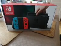 Brand New Nintendo Switch (Neon)