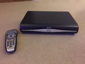Sky+ HD box and Official Sky+ remote control.