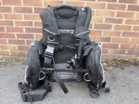 Large AP Valves Buddy Commando BCD with Auto Air.