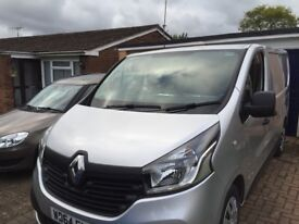 Renault Trafic 64 plate