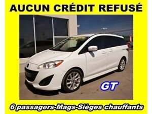 2014 Mazda Mazda5 GT SIÈGES CHAUFFANTS MAGS *6 PASSAGERS*