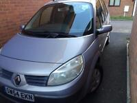 Renault scenic 1.6 petrol automatic mileage 50k great condition drives fantastic