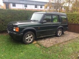 Land Rover td5 breaking