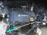 Corsa engine. 1.4 & gearbox starter & alternator
