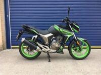 2017 ZONTES SCORPION 125cc EFI , VERY LOW MILES , HPI CLEAR , JUST SERVICED, 10 MONTHS OLD