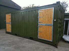 Portable double stable block