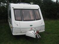 bessa carr cameo top of range 2002 2 berth caravan