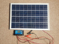 25w Solar Panel Kit - 12v Eco-Worthy Polycrystalline PV Solar Panel Module