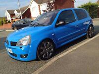 Clio 182 Cup Rare JS Blue