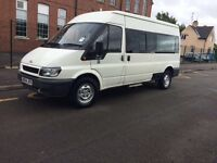 Ford transit minibus for sale, great runner, good for conversion or work van
