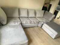 --DELIVERY AVAILABLE--NEW U-SHAPE 6 SEATER CORNER SOFA NOW IN STOCK