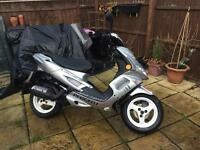 100cc Peugeot speed fighter2 swap for car!