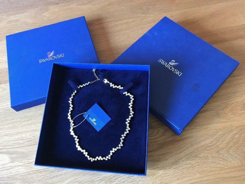 Unworn Swarovski Fidelity Necklace  | in Greetland, West Yorkshire | Gumtree