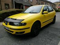 SEAT LEON 1.8T SPORT 20v STARTS AND DRIVES