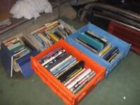 LARGE JOB LOT BOOKS, CLASSIC CARS MOTORCYCLES ETC