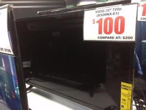 """VIZIO 32"""" LED TV 720p (D32HNX-E1)"""