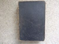 HOLY BIBLE - VINTAGE 1879 - OLD & NEW TESTAMENTS