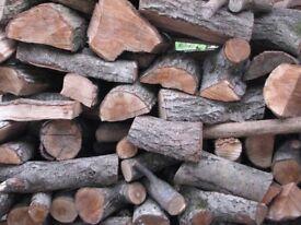 Well seasoned logs for sale- avaliable in large sacks