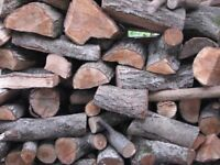 Well seasoned logs for sale- avaliable in large sacks
