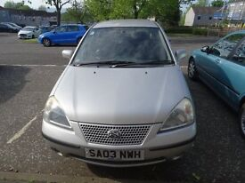 Suzuki Liana GLX 1586cc for sale. reliable wee car, low milage for year MOT November