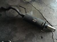 3 inch rolled tip back box,Vauxhall Corsa D 1.2-1.4