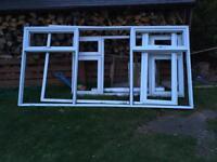 Big UPVC windows.