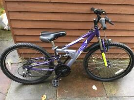 Apollo FS24 suspension Kids mountain bike