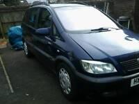 Vauxhall (opel) zafira 51 plate