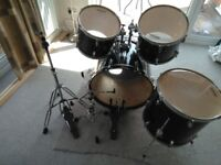 Sonor 503 drum kit - with hat stand / kick pedal (and PST5 crash) = GOOD CONDITION