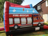 FIRE ENGINE AJL 16ftx16ft + sun/shower roof gc - incs. fan/pegs (needs new cert)