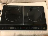 Double hobs portable induction