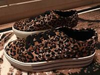 Platform studded shoes. Size 6. £15 Ono.