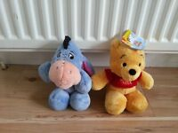 Winnie the pooh vear and eyor disney soft toys
