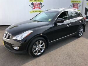 2012 Infiniti EX35 Luxury, Leather, Sunroof, Back Up Camera, AWD