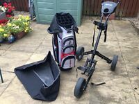 For Sale - Push Cart, cart Bag and boot tidy