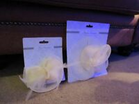 2 x Fascinators **BRAND NEW**