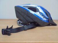 CHILD'S GIRO BLUE CYCLING HELMET