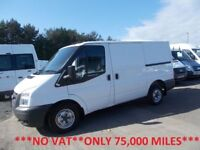 Ford Transit 280 2.2 TDCi 85 SWB L/Roof***NO VAT**ONLY 75,000 MILES***
