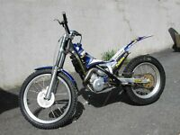 Yamaha scorpa 250 Trials bike