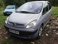 2002 Citroen Picasso 2.0 HDi SX 5dr KNA KNAC BREAKING FOR SPARES