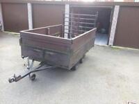 Twin axle trailer 8x 4 ideal builder gardener quad bike Etc