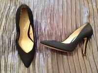 Zara shoes, black - size 6
