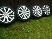 19 inch 5x112 genuine Audi alloys wheels